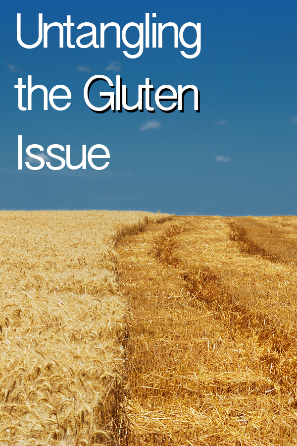Untangling the Gluten Issue