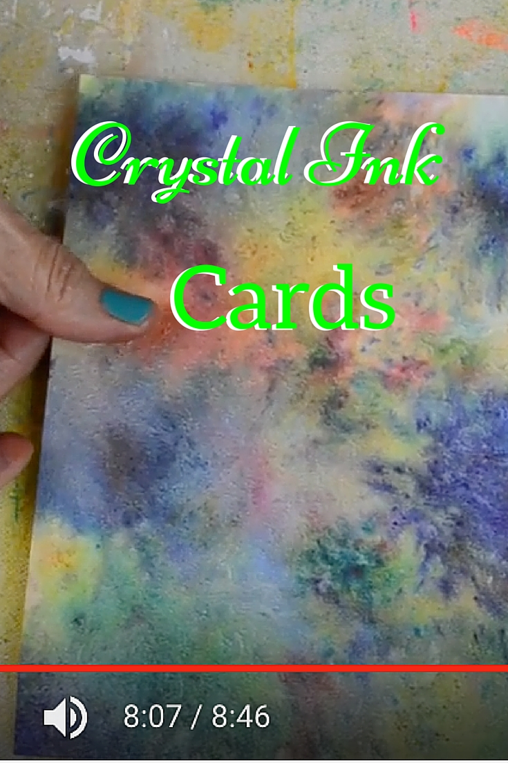 Ink Crystal Greeting Cards