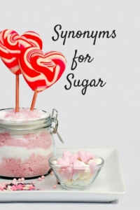 Sugar's Many Synonyms