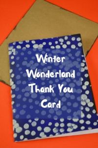 Winter Wonderland Thank You Card