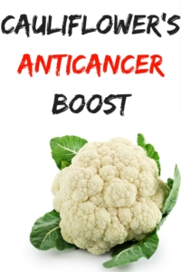 Cauliflower's Anticancer Boost