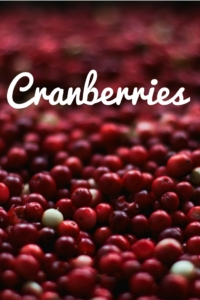 Cranberries Start The Party