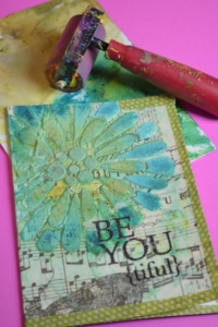 Encouragement Card Using Collage