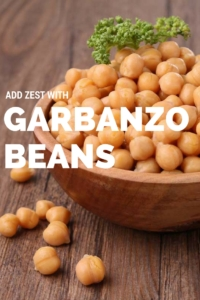 Add Zest with Garbanzo Beans