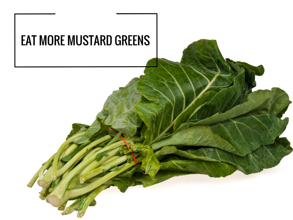 how to eat mustard greens