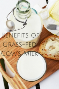 Health-Promoting Benefits of Grass-fed Cow's Milk